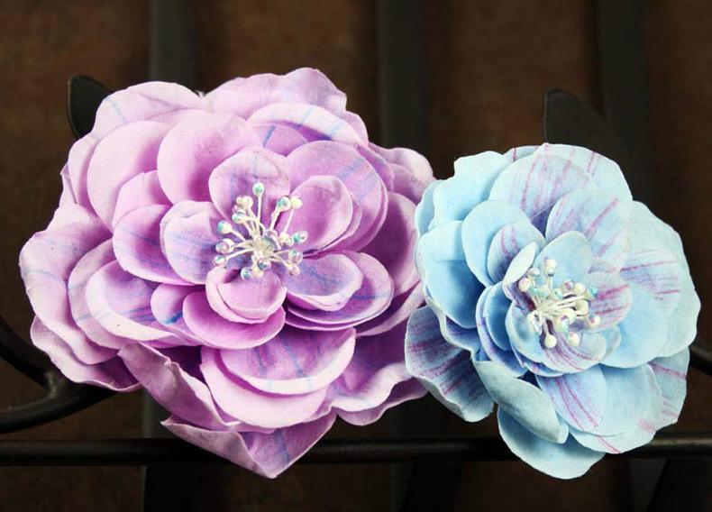 На тему как сделать цветы из