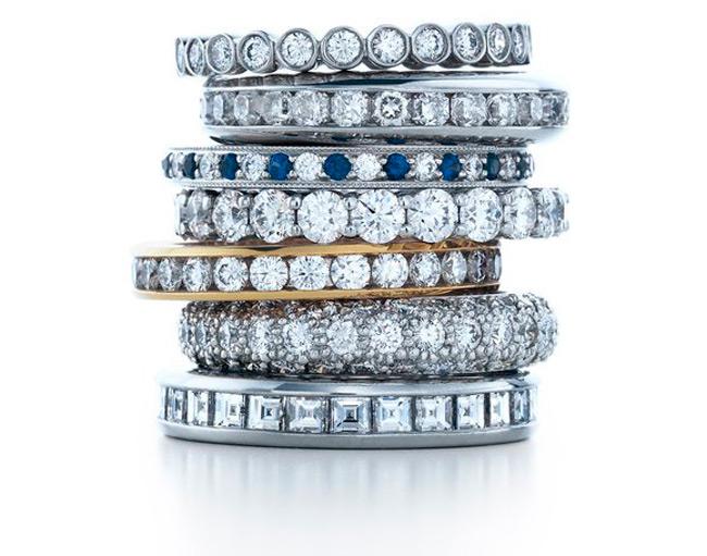 Кольца с бриллиантами от Тиффани