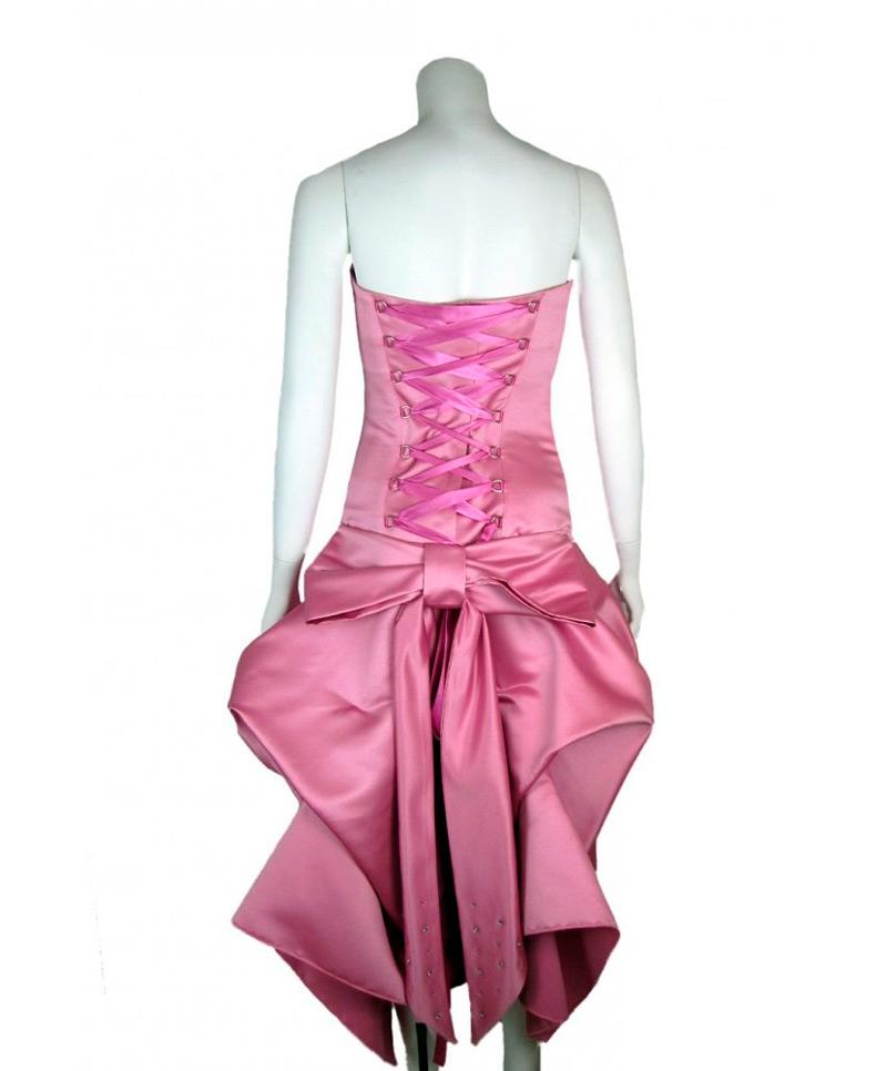 вечерние платья розового цвета