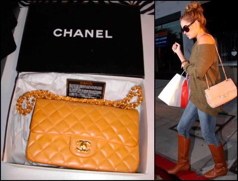 Сумочка на цепочке Шанель 2.55, Chanel 2.55.