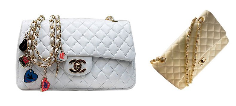 шедевр от Шанель - сумка на цепочке.  Своим названием - Chanel.