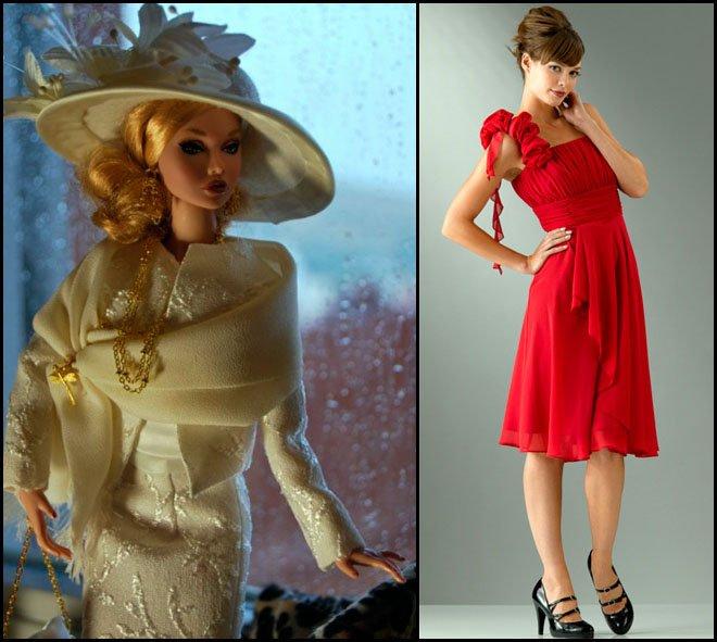 Комментарий: фото одежды романтический стиль.