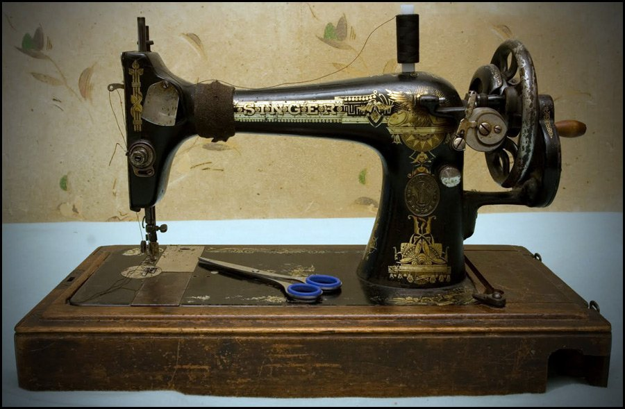 швейных машинок «Зингер».