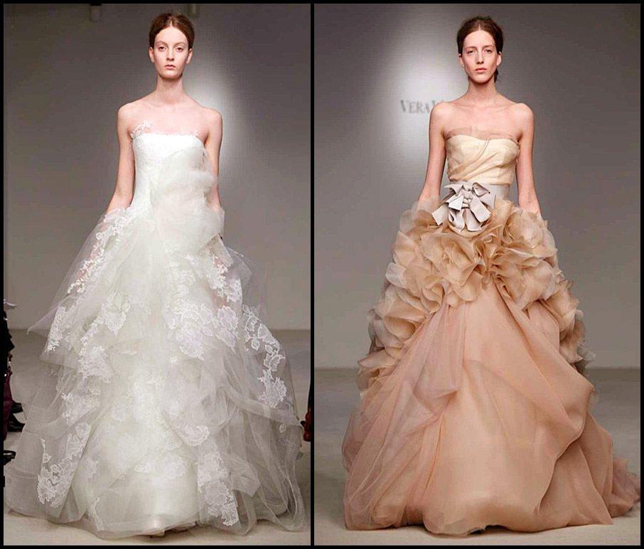 Свадебные платья знаменитостей от Веры Вонг, фото коллекции
