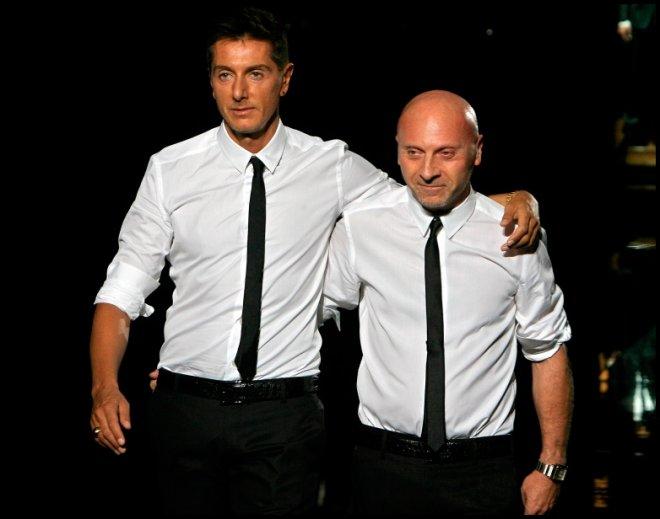 Доминико Дольче и Стефано Габбана