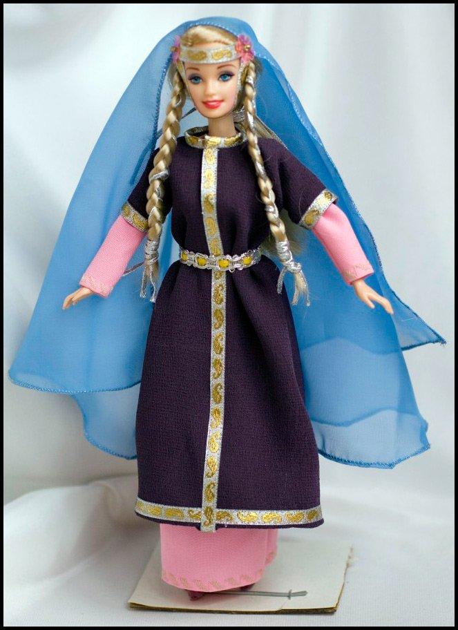 Кукол исторический костюм для барби
