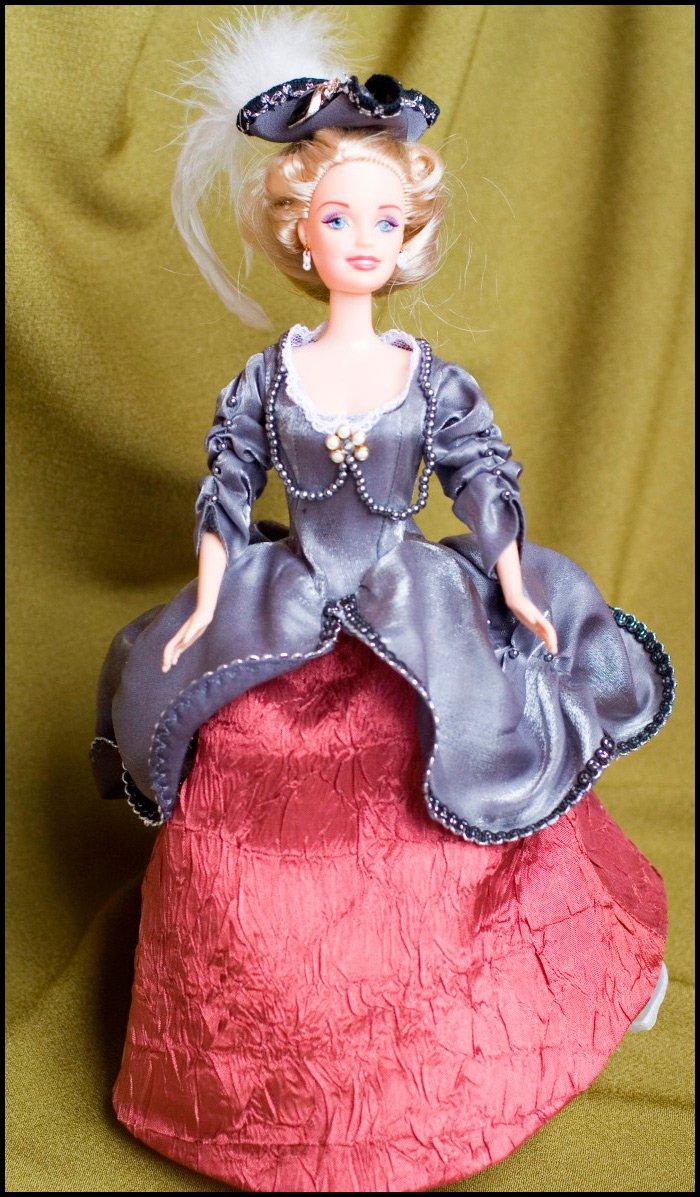 Кукла барби и позднее рококо вторая