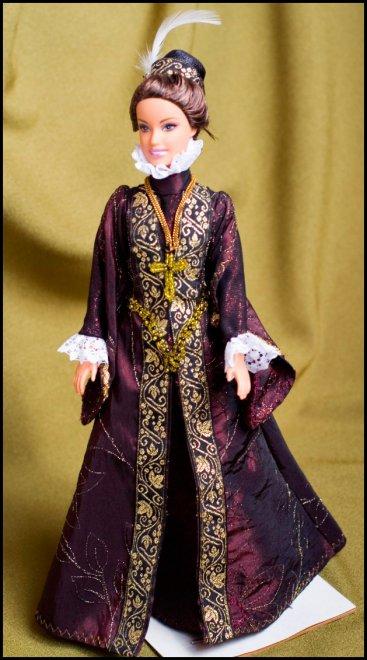 Моды и костюма в одежде для кукол
