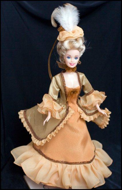 Еще одно платье для барби периода