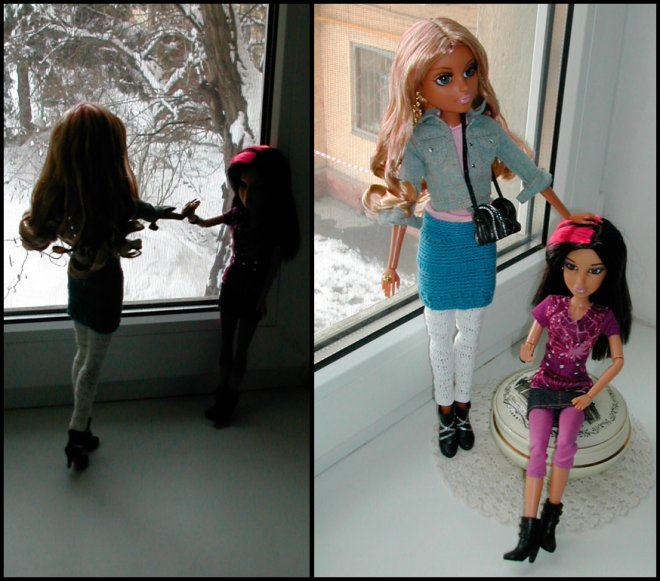 Одежда и парики для кукол ЛИВ - мой личный опыт покупки