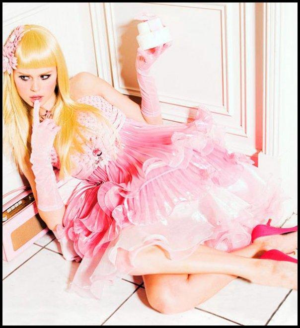 Оригинальные платья для куклы барби