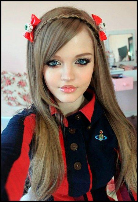 Красивые кукольные девушки картинки фото 515-104