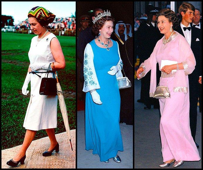 Женское платье королевы великобритании