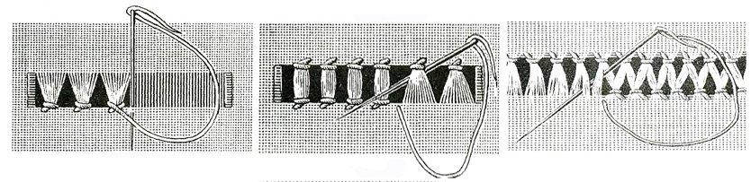 Вышивка мережка история эскизы