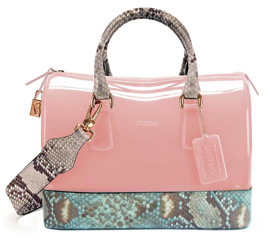 сумка леденец Furla Candy для девочек.