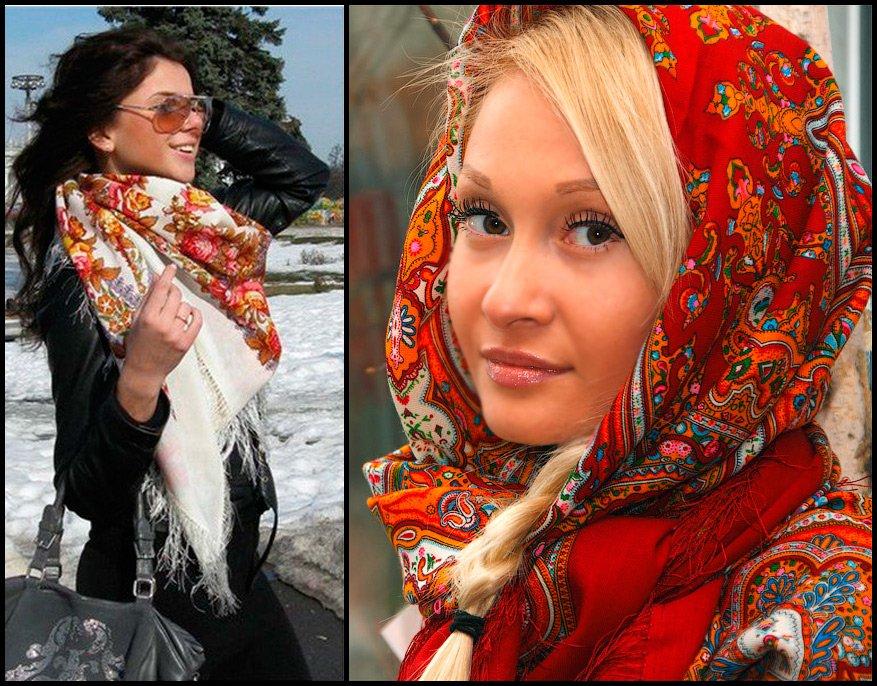 История фото русской красавицы с платком секс фото фото 258-357