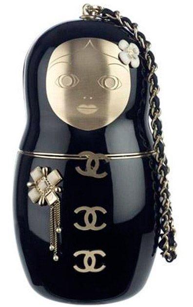 Матрешка сумка Шанель