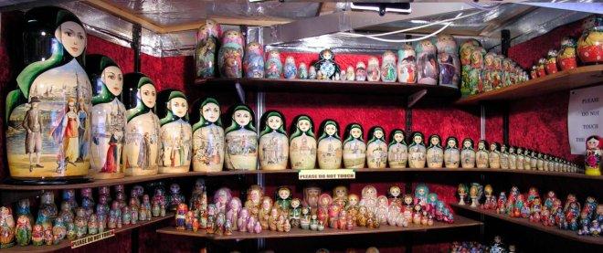 русские матрешки