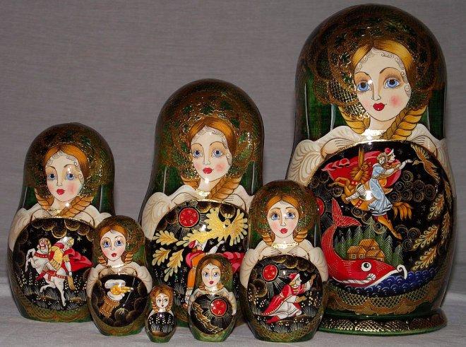 История создания русской матрешки и лучшие фото матрешек