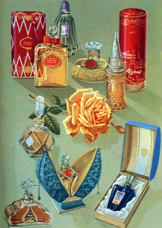 Советская парфюмерия сделано в СССР