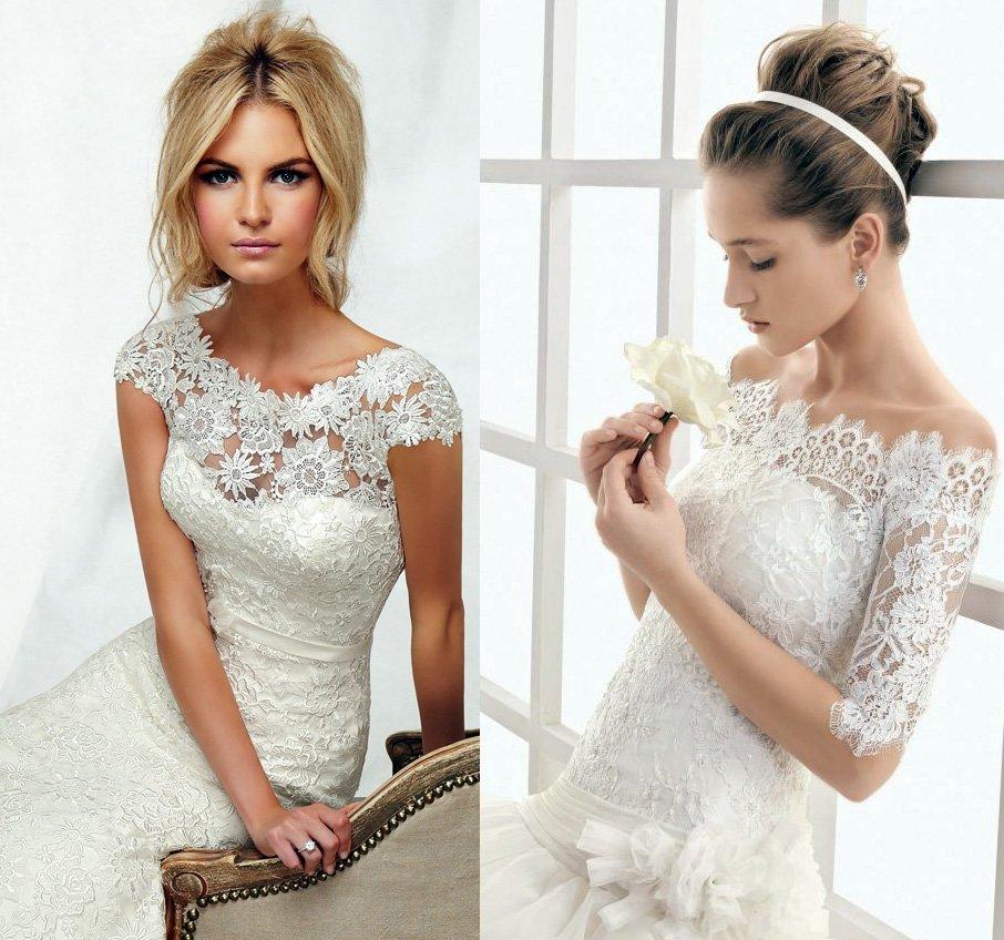 Кружевное Свадебное Платье Купить Недорого В Москве