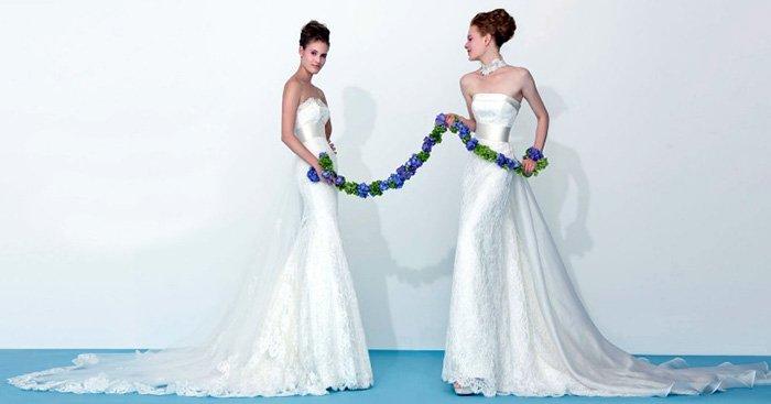 Белые свадебные платья фото
