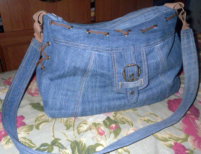 Как сшить сумочку из старых джинсов своими руками выкройки
