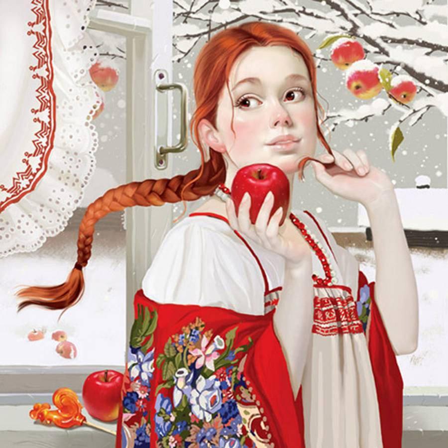 Смотреть русских красивых девушек картинки 10 фотография