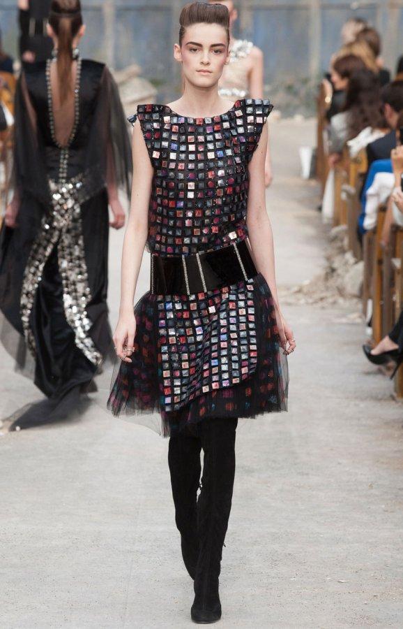Chanel dress foto