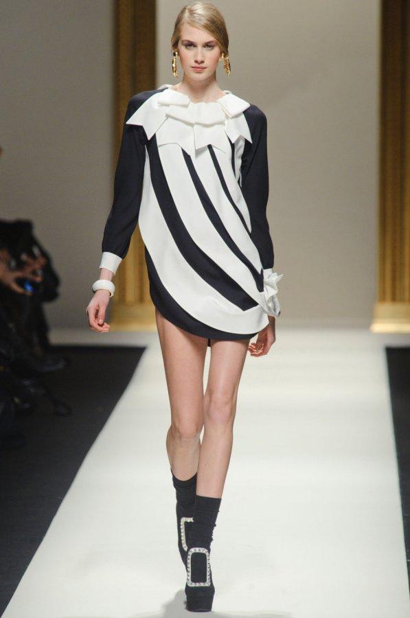 2013-2014 Moschino vestido