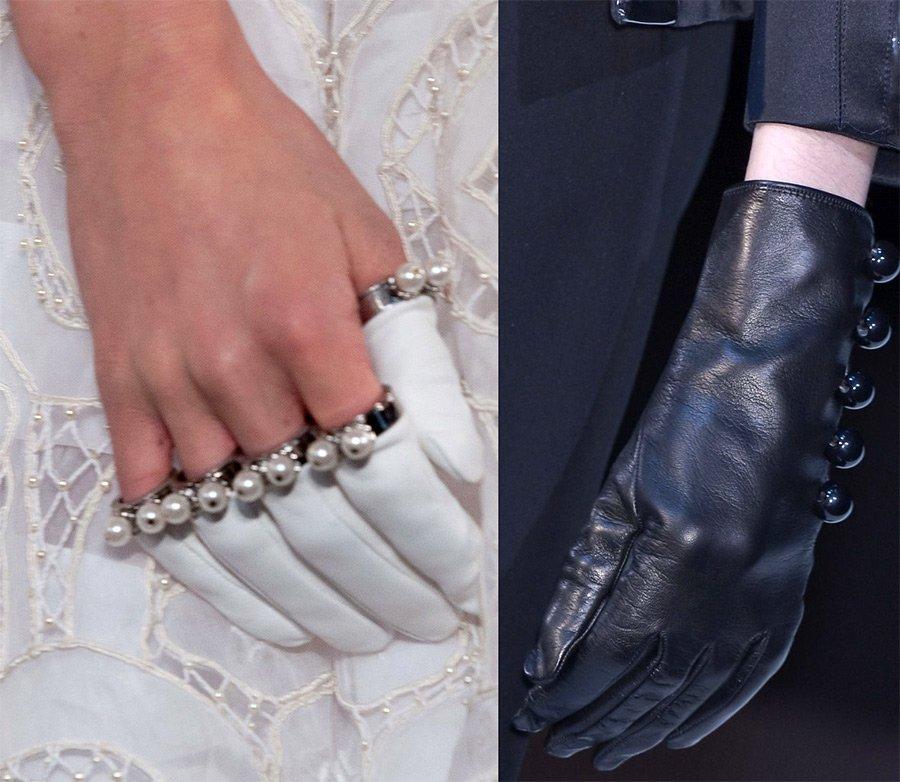 Короткие перчатки, фото