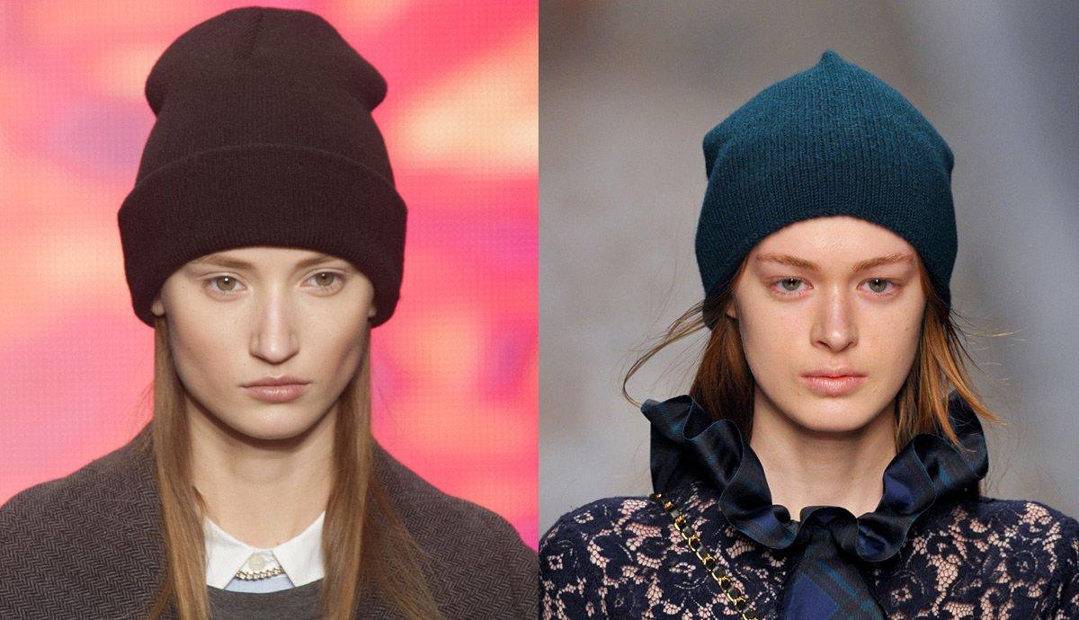 Женские шапки осень 2017