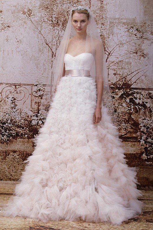 модные свадебные платья 2015, фото