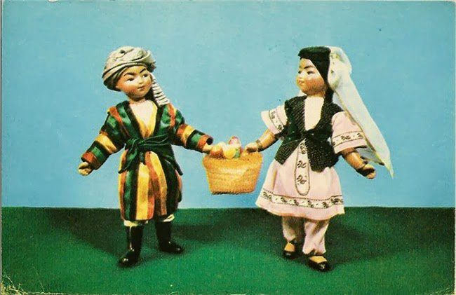 Национальные костюмы народов ссср своими руками