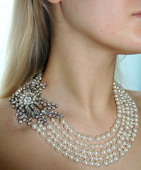 Красивые ожерелье своими руками