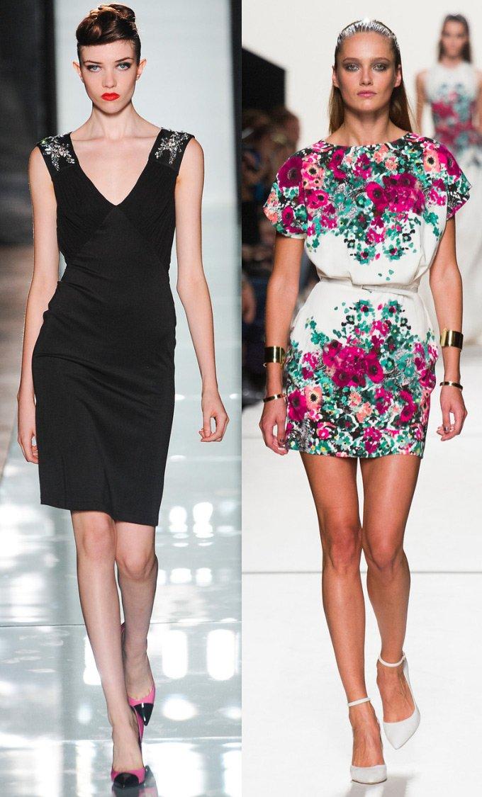 Модные платья весна – лето 2014 фото