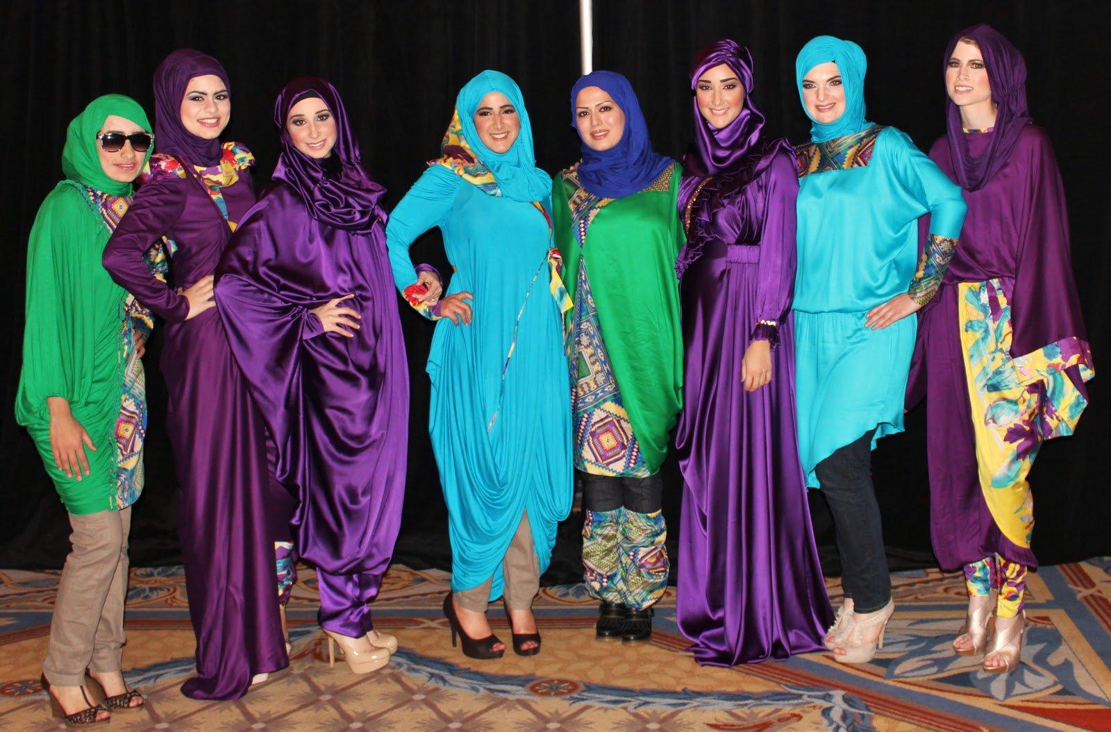 Muslim fashion islamic clothing 3