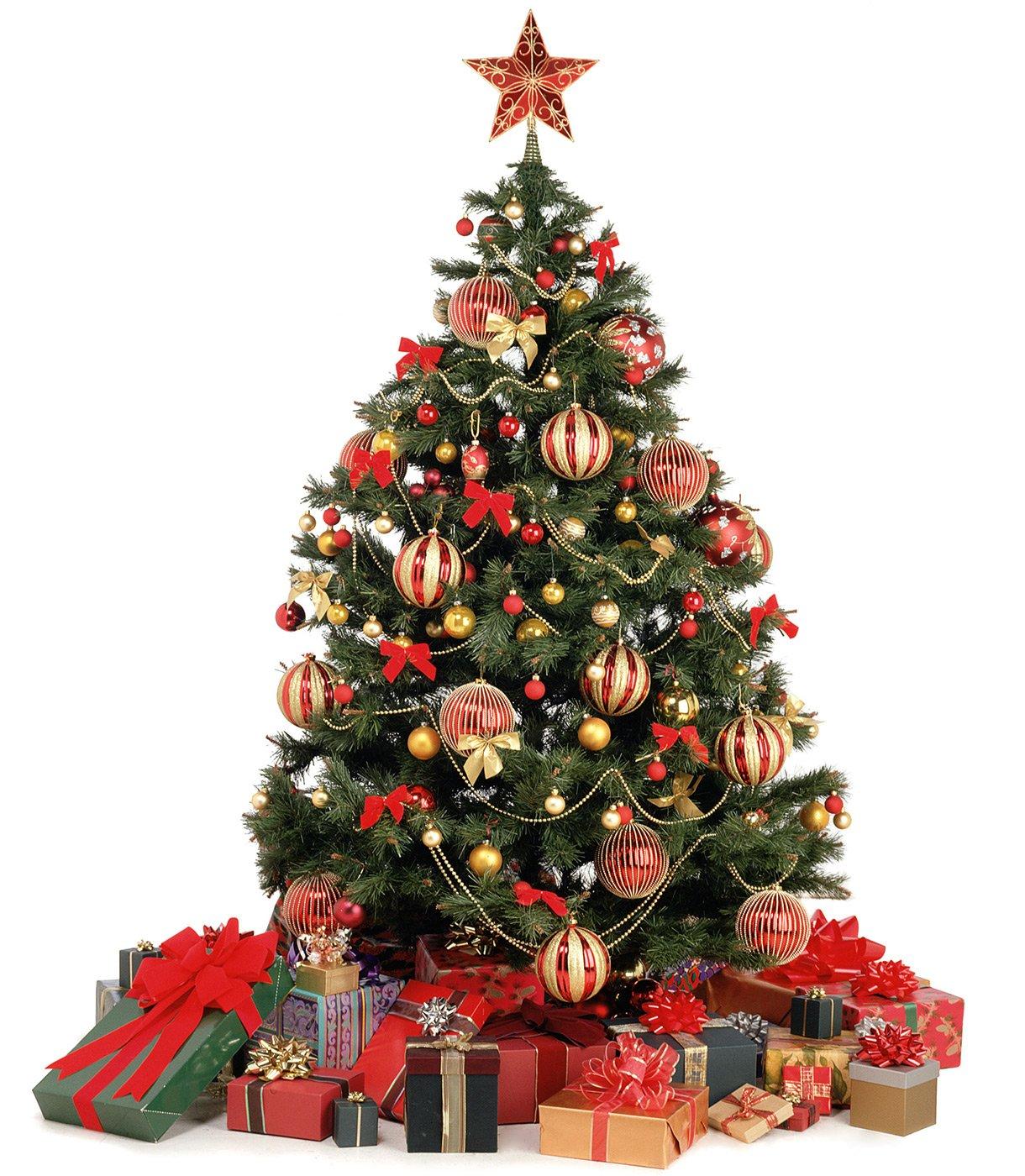 Новогодняя елка украшение