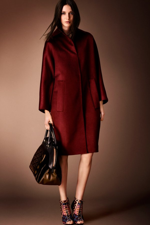 Одежда осень зима 2014 2015 от burberry prorsum