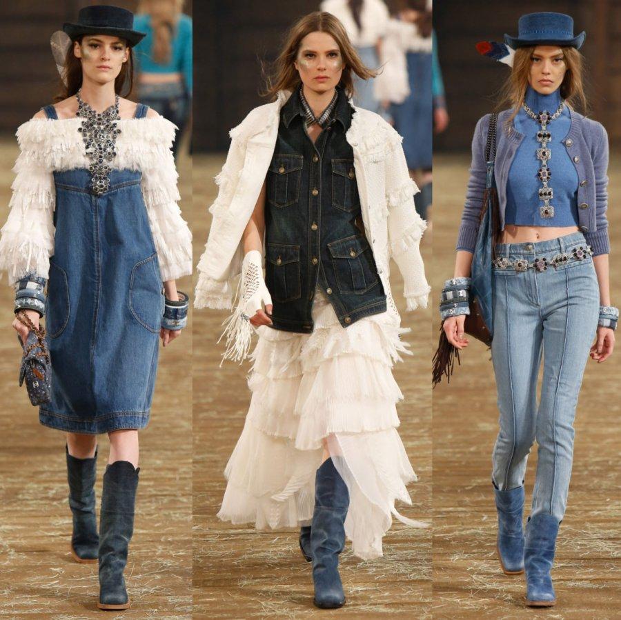 Chanel осень зима 2014 2015 pre fall коллекция