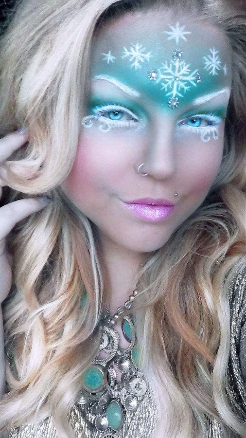 Как сделать макияж снежная королева