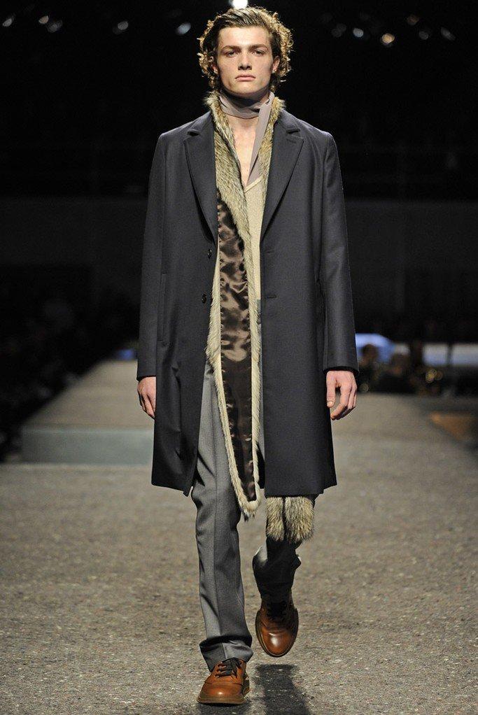 Модная мужская одежда Prada осень-зима