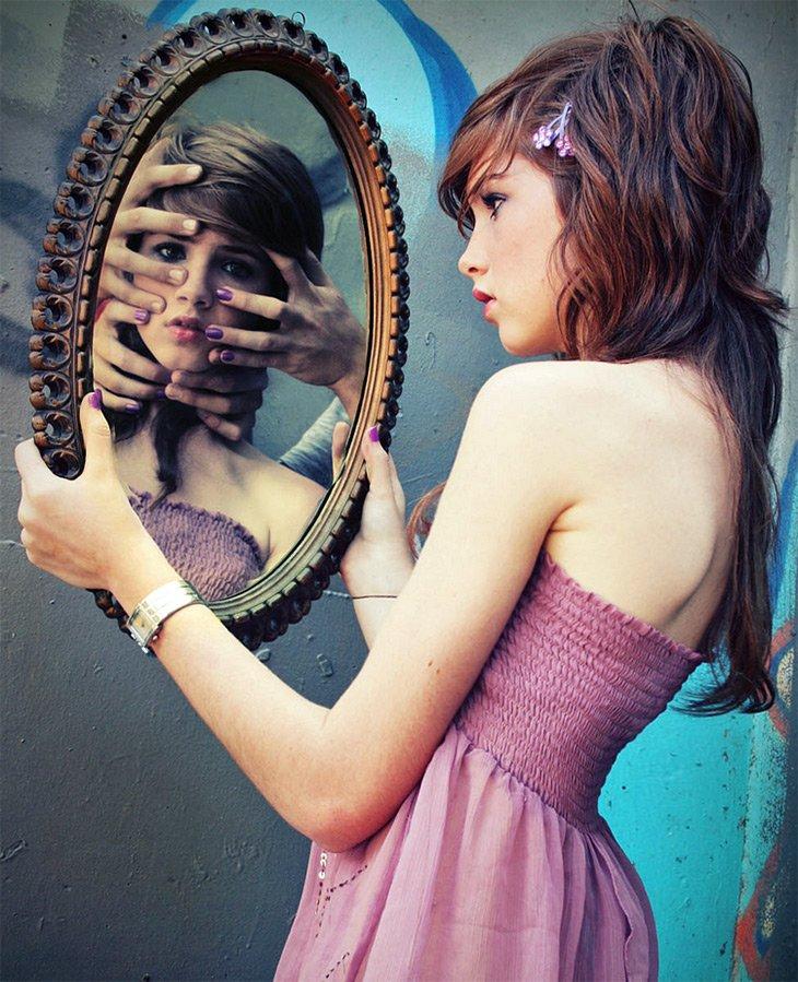 Зеркало и самооценка