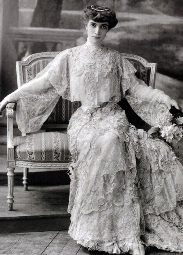 Маркиза Луиза Казати – фото в юности