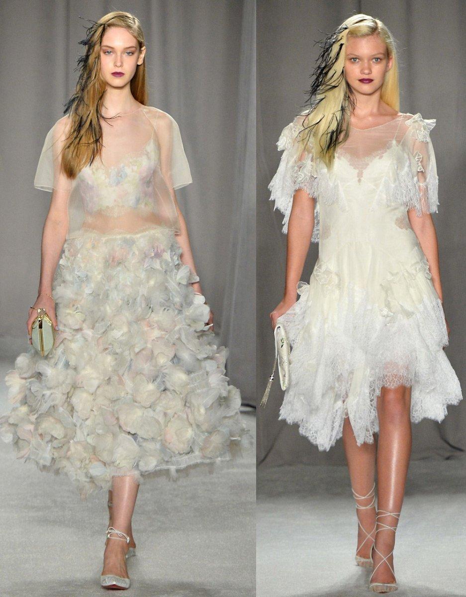 Пышные платья marchesa
