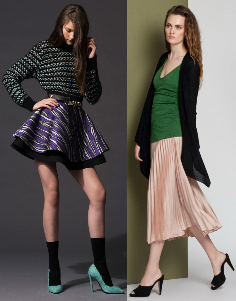 Модные юбки осень и зима 2014 2015