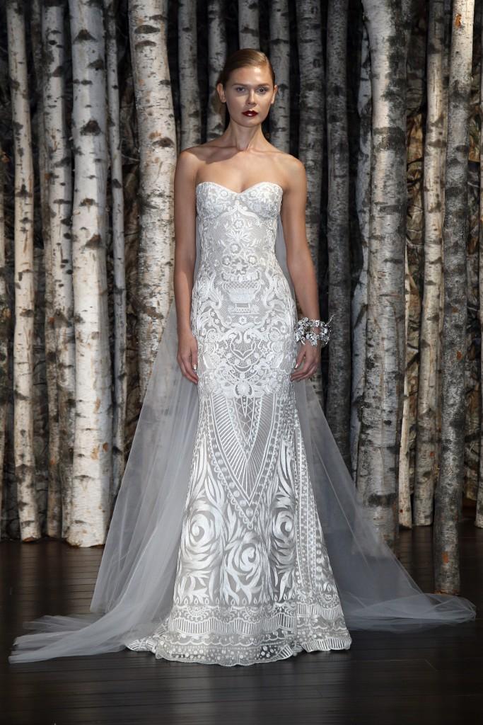 самые красивые свадебные платья 2015 фото
