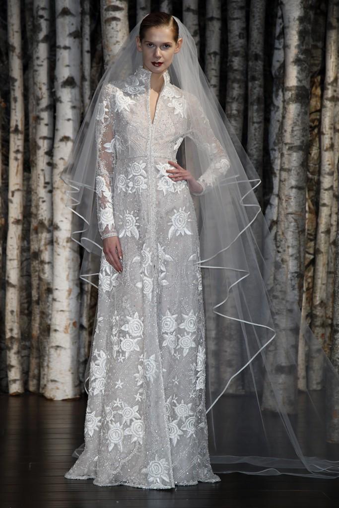 красивые свадебные платья 2015