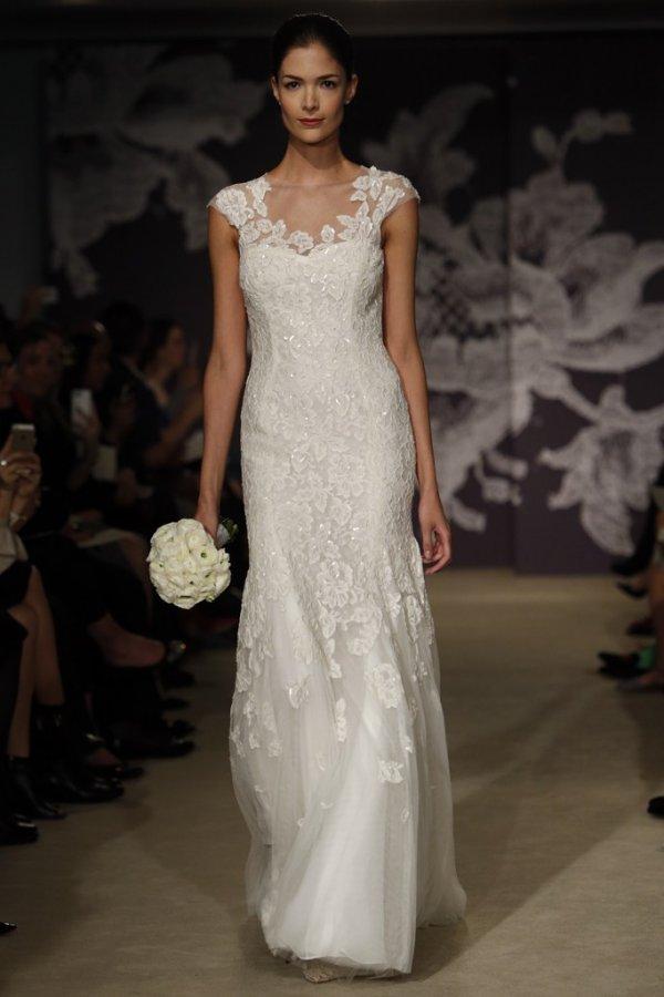 Carolina herrera – коллекция свадебных