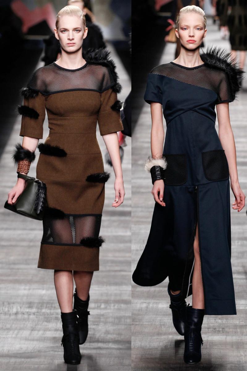 Мода Осень 2015 Платья